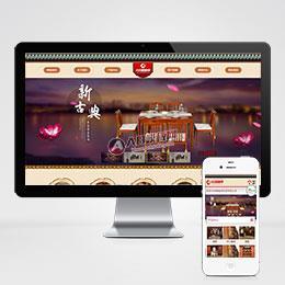 简洁家居家具厨房橱柜用品企业网站织梦dedecms模板(带手机端)+PC+wap+利于SEO优化